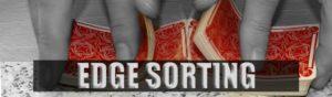 Edge Sorting beim Baccarat im Casino