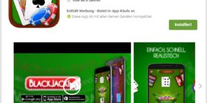 Blackjack! - App für Android Smartphones