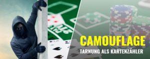 Blackjack-Tipps: Camouflage und Tarnung beim Kartenzählen
