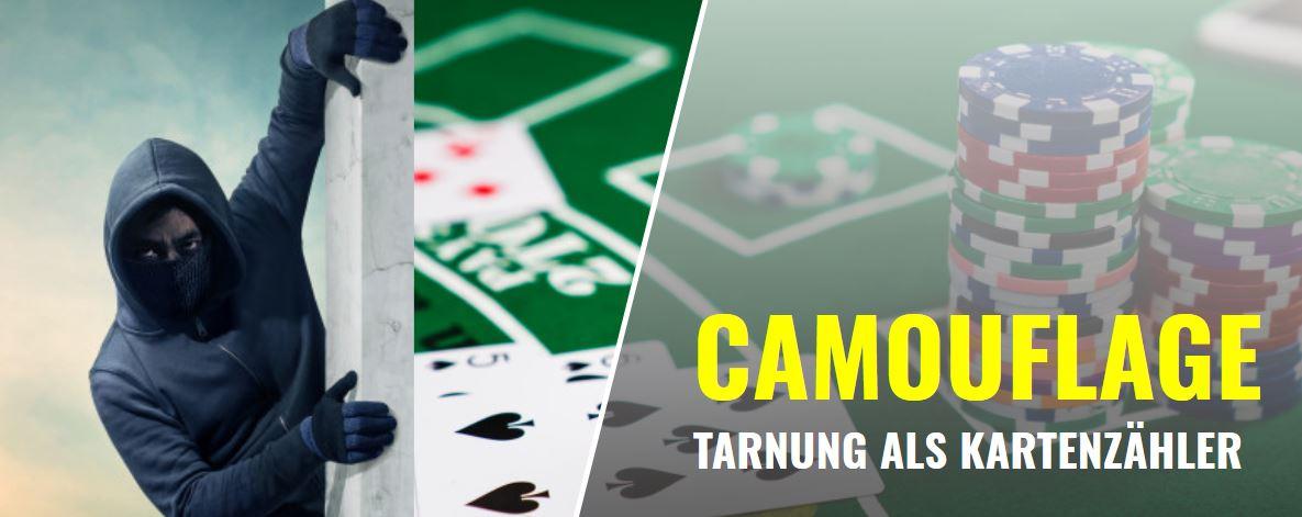 Blackjack-Tipps: Camouflage – Tarnung beim Kartenzählen im Casino