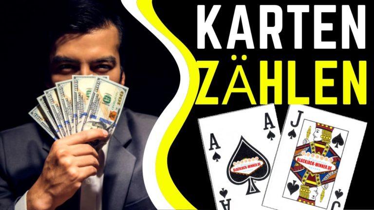 Kartenzählen beim Blackjack im Video