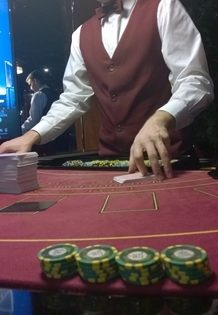 Blackjack-Dealer Admiral Casino Pilsen / Tschechien