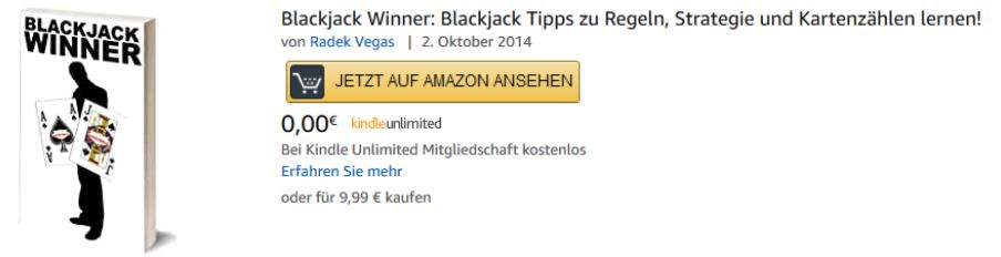 Blackjack Winner - eBook auf Amazon kaufen