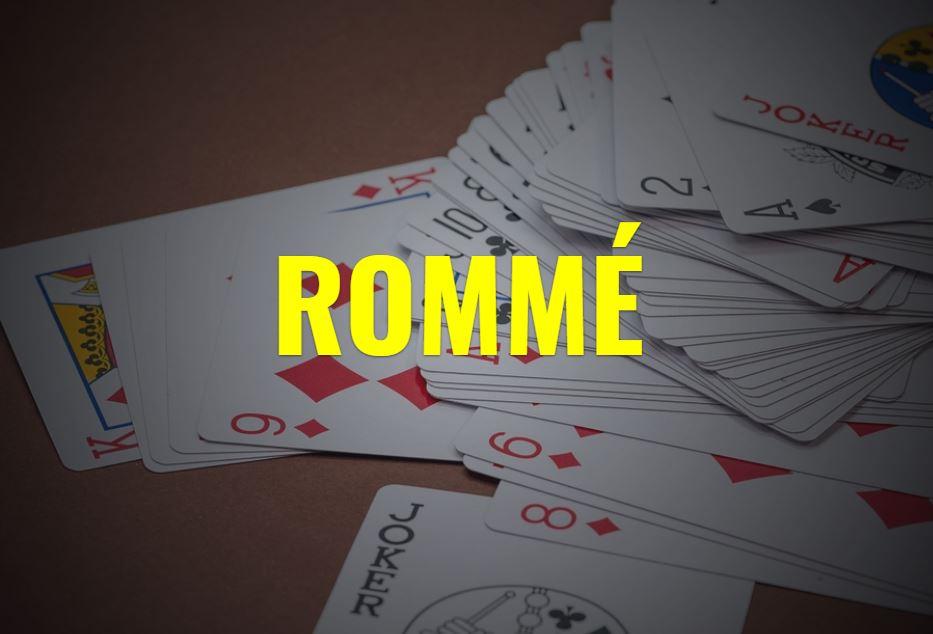 Rommé - französisches Kartenspiel