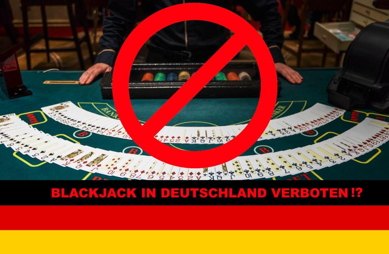 Ist Blackjack in Deutschland verboten?